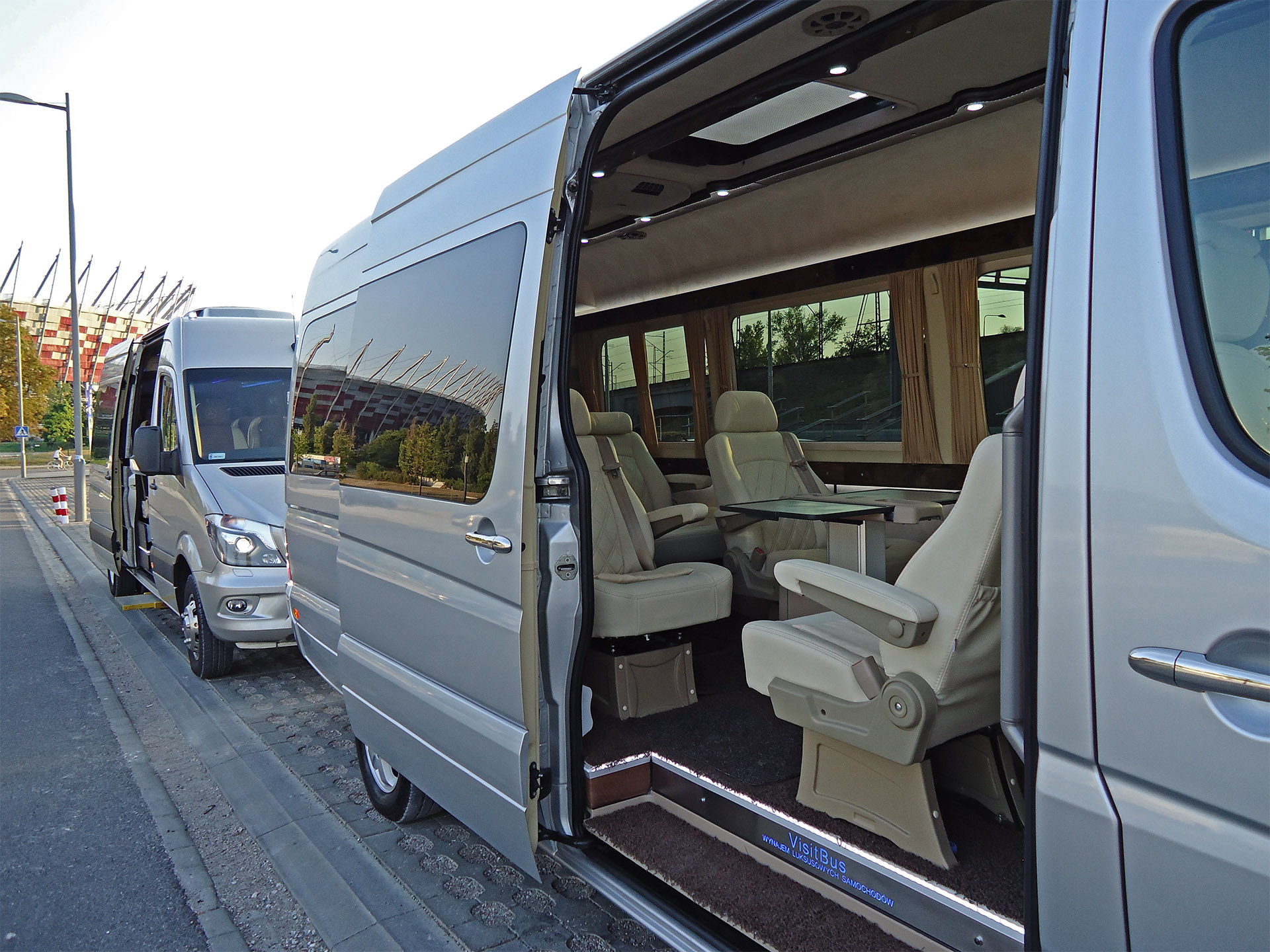 Visit Bus Mercedes Sprinter 319 Wynajem Warszawa